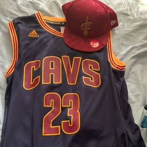 Cavs jersey it's authentic from the NBA store